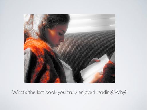 Reading slide